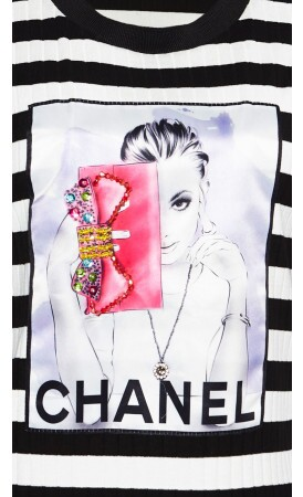 T-shirt Clutch Canelado lov.it atacado