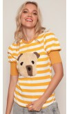 T-shirt Dog Listrada Lov.it