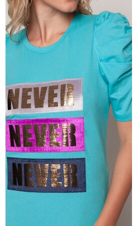 T-shirt Never lov.it atacado